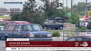 Police respond to shooting in Olde Town Arvada early Monday afternoon