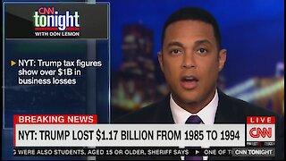 Lemon Tears into President Trump Over Report on Tax Figures