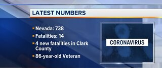 COVID-19 cases pass 700 in Nevada