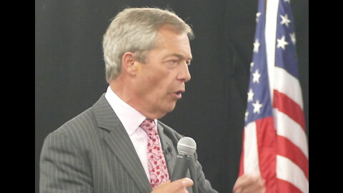 Brexit champ Nigel Farage urges Michigan patriots to fight COVID queen Gretchen Whitmer