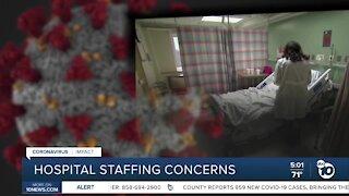 Health care workers concerned over hospital staffing levels