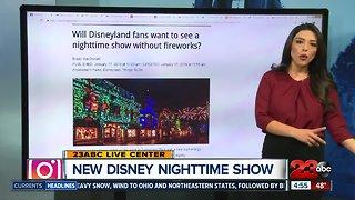 Disneyland nightly firework show temporarily replaced