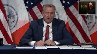 NYC Mayor Calls for Governor Cuomo to Resign