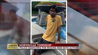 Police searching for missing man with autism in Northville Twp