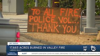 17,665 acres burned in Valley Fire