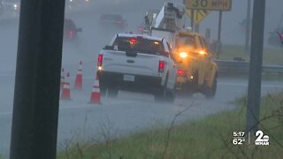 Anne Arundel County hit with heavy rain
