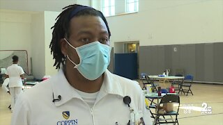 Coppin State Host Vaccination Clinic