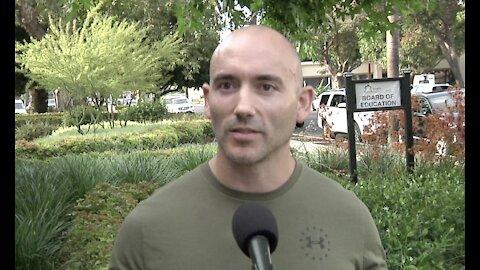 One Marine Veteran's Fight Against Masks & CRT In Schools