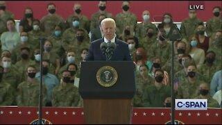 Biden: No Joke, The Greatest Threat We Face Is Global Warming