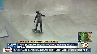 Skatepark draws international athletes ahead of 2020 Olympics