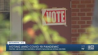 Voting amid the COVID-19 pandemic