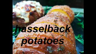 How to make Hasselback potatoes at home