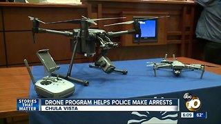 Drone program helps police make arrests