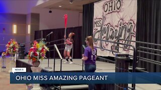 2021 Ohio Miss Amazing pageant held at John S. Knight Convention Center in Akron