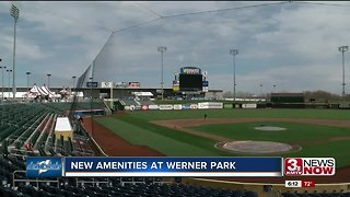 New Amenities at Werner Park