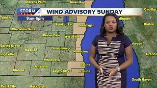 Elissia's Sunday Morning Forecast