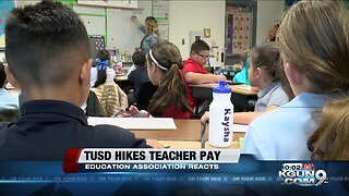 Tucson Education Associations reacts to TUSD wage hikes