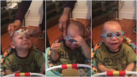 Blind Kid SEES for the first time!.. Their reactions are Priceless..