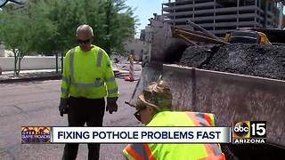How to get pothole problems fixed fast