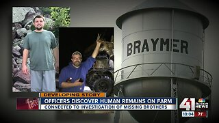 Clinton County sheriff: Human remains found on Braymer farm