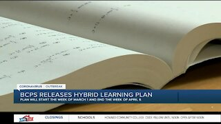BCPS releases hybrid learning plan