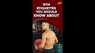 Top 4 Gym Etiquettes You Should Know About *