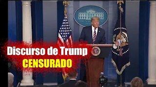 El Discurso de TRUMP interrumpido por los medios