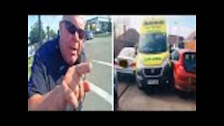 Cop Refuses To Move Car Blocking EMT, Gets Taught An Expensive Lesson