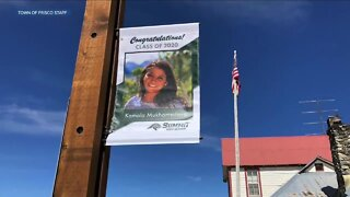 Frisco honors seniors on lamp post banners