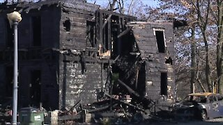 Huge fire leaves 8 homeless in Alliance; community rallies to support them