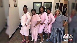 Cynthia's Church Goes Pink