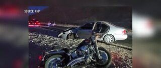 Driver arrested for DUI, motorcyclist killed in crash