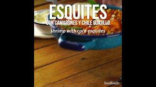 Shrimp with Corn Esquites