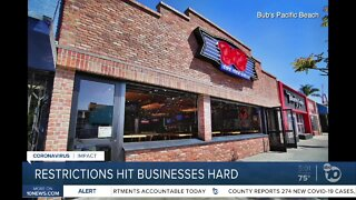 New restrictions take emotional, financial toll on businesses
