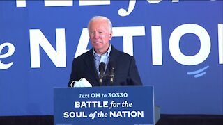 Democratic presidential candidate makes stop in Cleveland