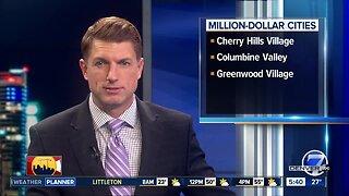 3 Denver metro cities are Million-dollar cities