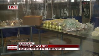 Eastern Market Open During Pandemic