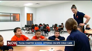 Tulsa charter school offering on-site child care