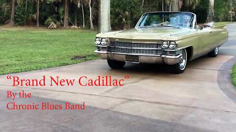 Brand New Cadillac by Chronic Blues Band