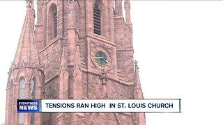 Church reports concern Saturday night