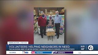Volunteers Helping Neighbors in Need
