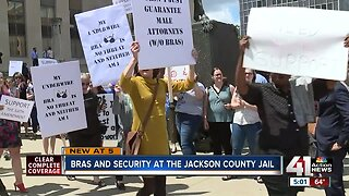 Jackson County attorneys protest new jail security measures