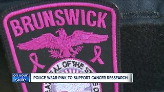 Brunswick police going pink to raise awareness, money for cancer research