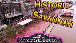 Historic Savannah Visit. Haunted Encounter at Moon River!!!