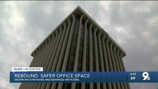 Air filters, smart elevators help a big building fight COVID
