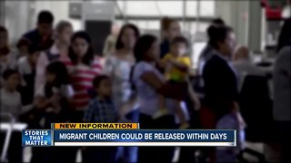 Migrant children could soon be released from U.S. custody