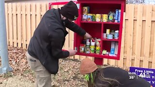 'Tiny but mighty': Community pantries help neighbors during COVID-19 pandemic