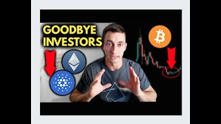 CRYPTO DUMPS AGAIN… GOODBYE INVESTORS!! [IMPORTANT UPDATE]