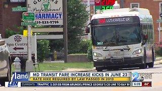 MTA Transit fares increase 10 cents
