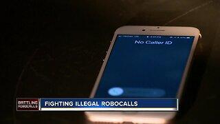 Fighting illegal robocalls